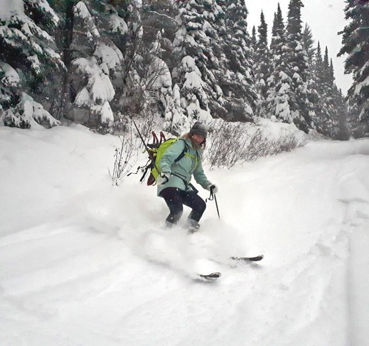 5 mile ski fun