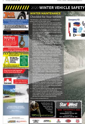 Winter Vehicle Safety Feature