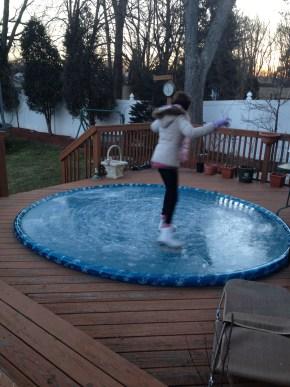 Iceskating in Endless Circles