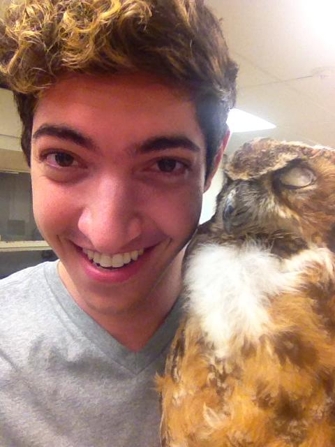 Me & my wittle Owl <3