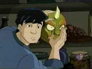 An Oni Mask for the Minikhan.