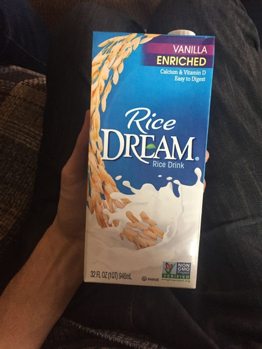 I Scream, You Scream, We All Scream for Rice Dream