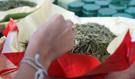 I'm Bringing Home Authentic Emporer's Dragon Well Green Tea