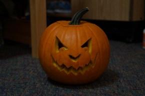 I Decided to Carve A Jack O'Lantern Last Night