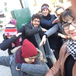 The Sexapalooza Sex-in-the-City Scavenger Hunt of Selfies