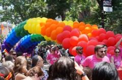 Pride Rainbow Balloon Arch