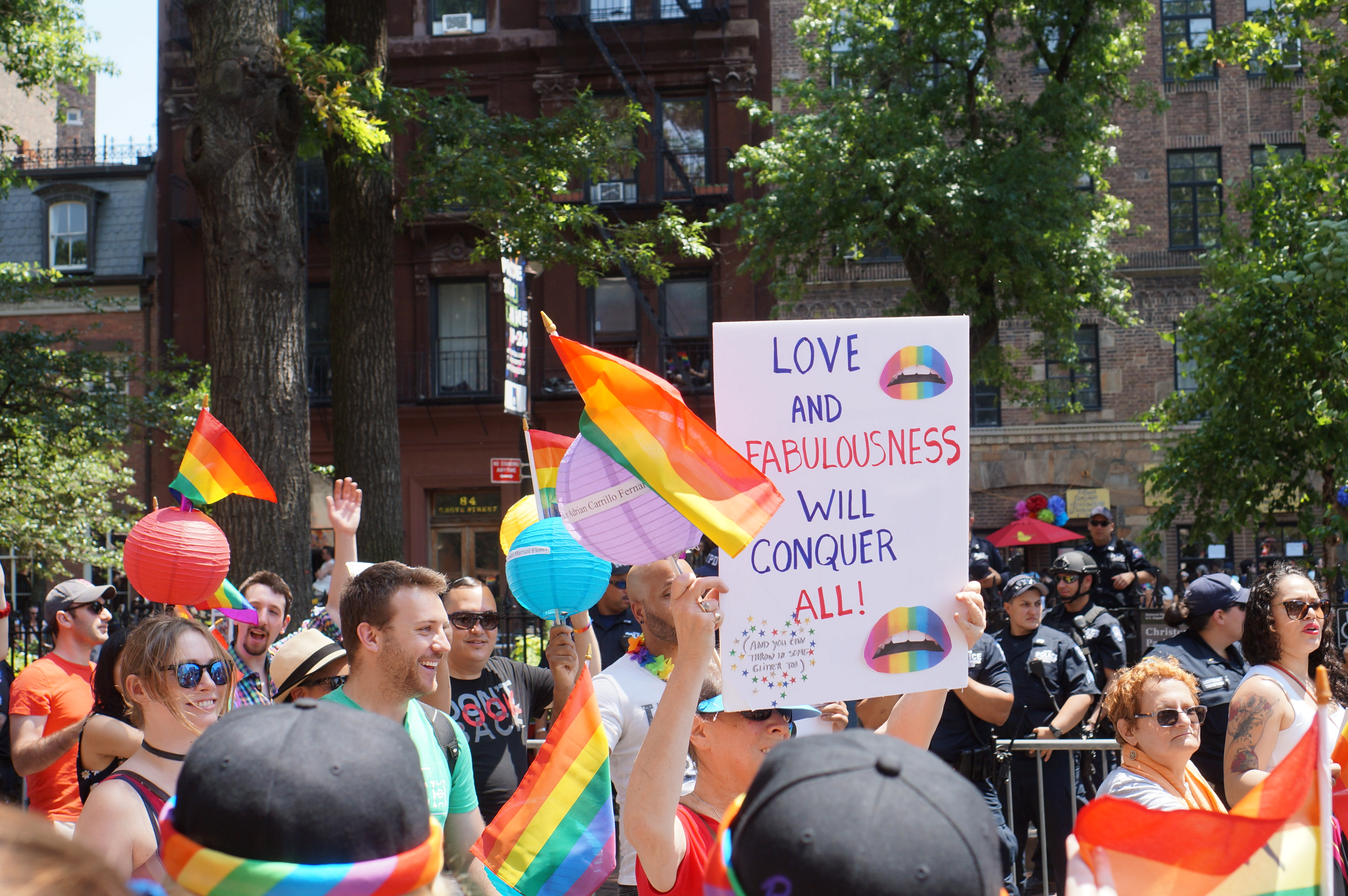 Love and Fabulousness Will Conquer All