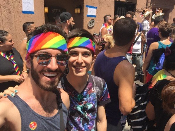 Attending our first NYC Pride Parade