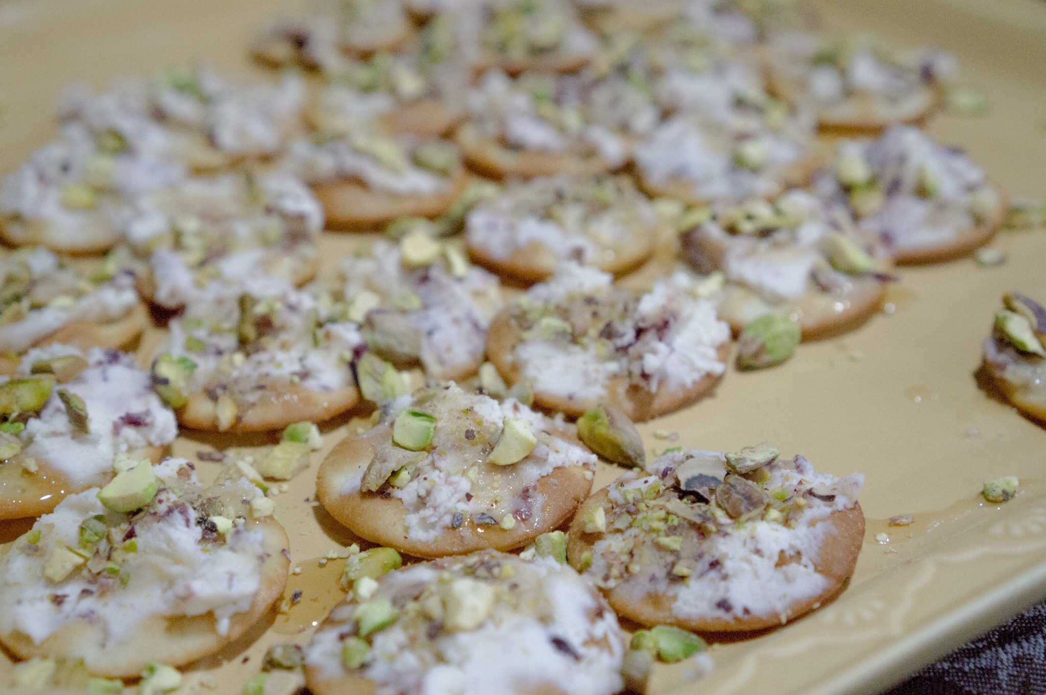 Pistachio Cranberry Crackers