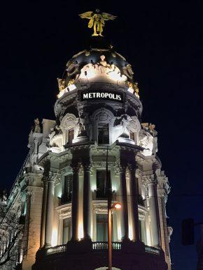 Exploring the Gran Vía of Madrid