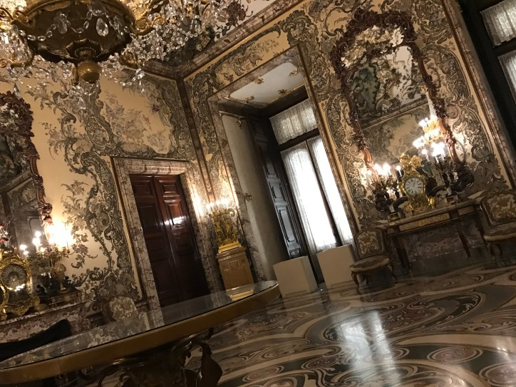 Interior of the Royal Palace of Madrid