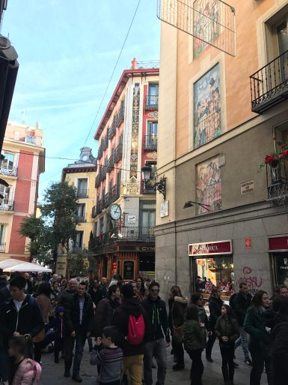 Street to Plaza Mayor