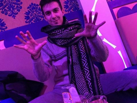 Tea with Jorge