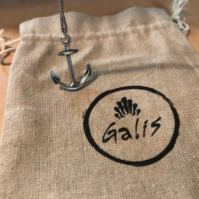 The Anchor Necklace By Galis Symbolizes Strength & Stability