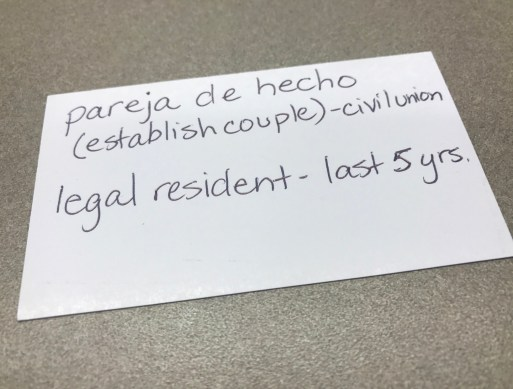 Pareja de Hecho: A Solution to Long Distance Relationships Between Spain and the USA