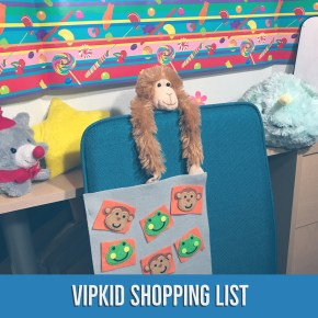 VIPKID Shopping List