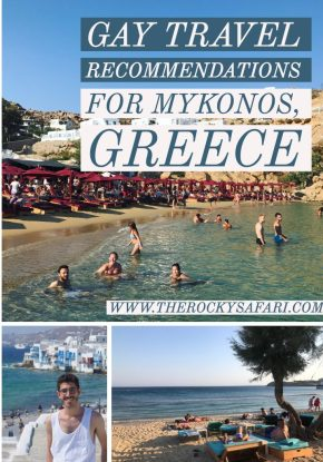 Travel Recommendations For Gay Men Who Want to Visit Mykonos