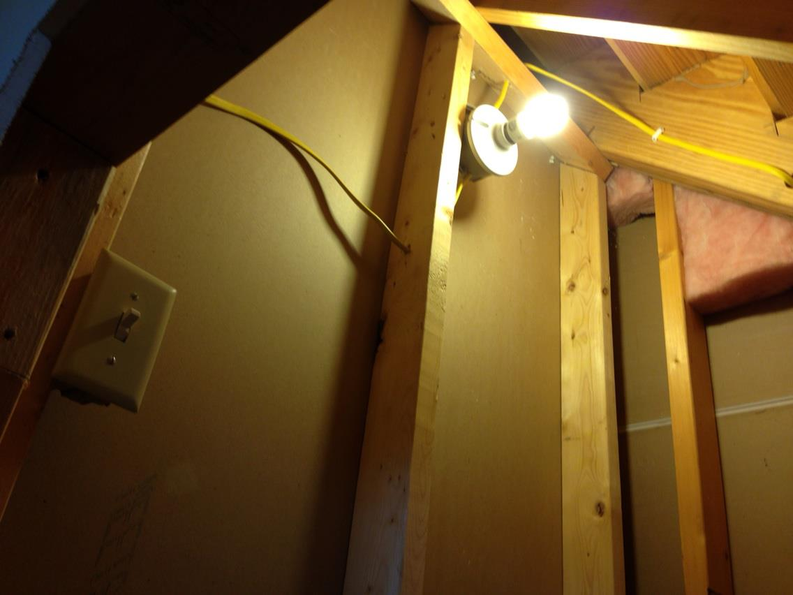 Lighting Basement Washroom Stairs: DIY Dog House Under The Stairs Tutorial