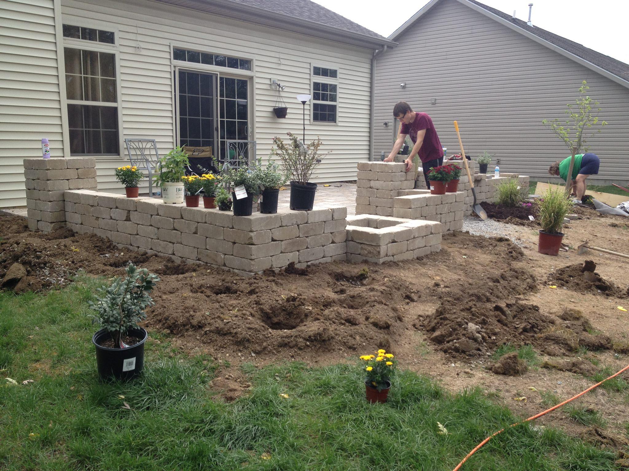 diy backyard paver patio outdoor oasis tutorial the rodimels