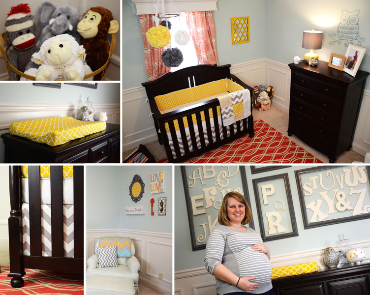 Baby Rs Modern Gender Neutral Baby Nursery The Rodimels Family Blog
