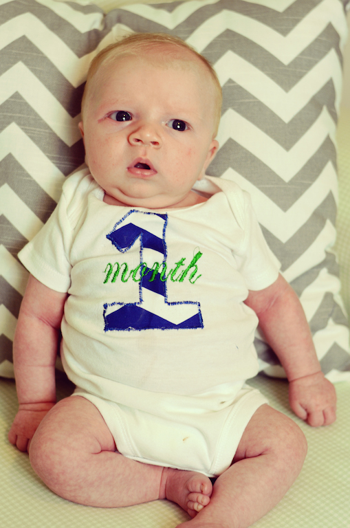 everett-baby-one-month-old-photo-monogram-onesie