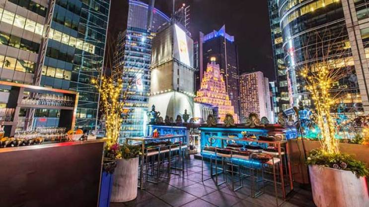 St. Cloud Rooftop Bar - New York, NYC | The Rooftop Guide