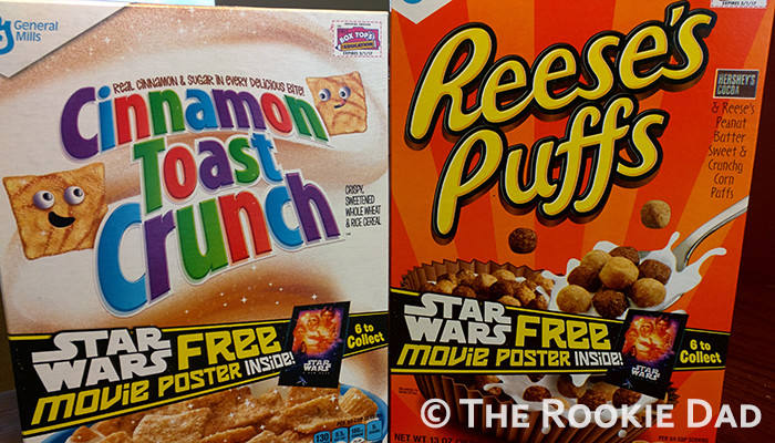 Star Wars Cereal - The Rookie Dad