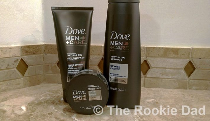 dove mens+care hair line