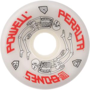 Ruedas Powell Peralta 64mm G-Bone White 97A