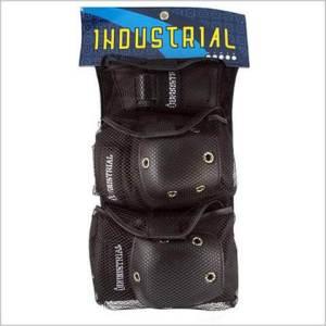 Protecciones Industrial Black/Black