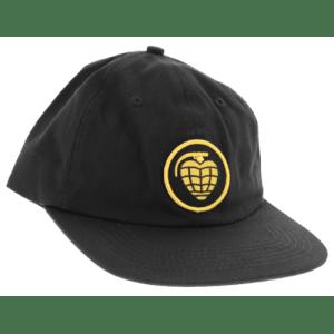 Gorra Thunder Grenade Patch Strapback Black/Yellow