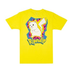 Camiseta Rip N Dip Catch Em All Yellow