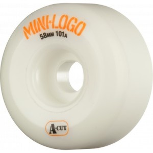 Ruedas Minilogo 58mm A-CUT 101A White