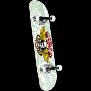 Monopatin Completo Powell Peralta 8″ Winged Ripper White