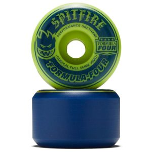 Ruedas Spitfire 54mm Navy/Lime Mashup Conical Full 99A