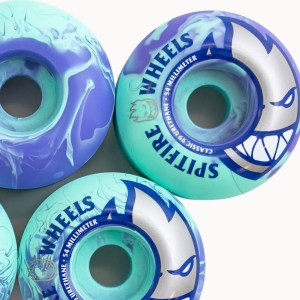 Ruedas Spitfire 52mm Bighead Teal/Purple Swirls 99A
