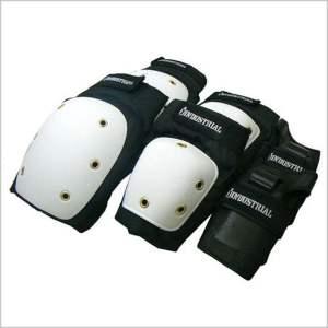 Protecciones Industrial White/Black