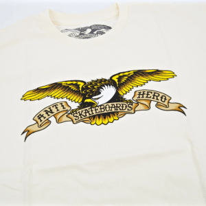 Camiseta Antihero Classic Eagle Cream