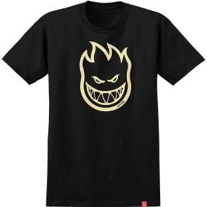Camiseta Spitfire Bighead Black/Discharge