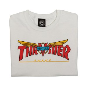 Camiseta Thrasher Venture Collab White