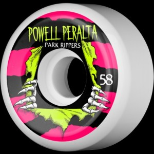 Ruedas Powell Peralta 58mm Rippers Park  Formula 84B/104A