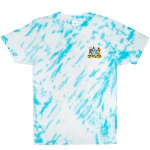 Camiseta Rip N Dip No Place Like Home Tee (Blue Stripe Tie Dye)