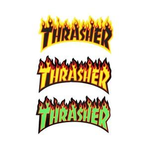 Pegatina Thrasher Flame Logo Big