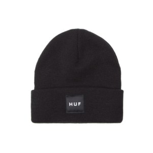 Gorro Huf Essentials Box Logo Black