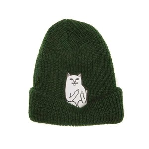 Gorro Rip N Dip Lord Nermal Ribbed Hunter Green