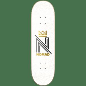Tabla Nomad 8.5″ OG Logo White