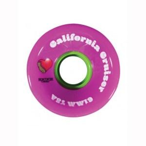 Ruedas Cruiser Remember California Pink