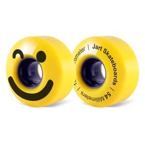 Ruedas Jart 54mm Be Happy Yellow 83A