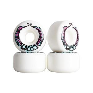 Ruedas Orbs 54mm Apparitions White 99A