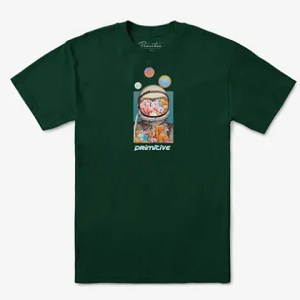 Camiseta Primitive Connect Forest Green